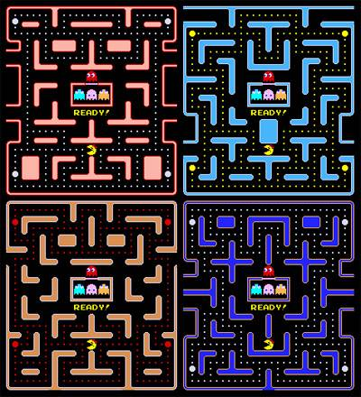 Los laberintos de Ms Pac-man